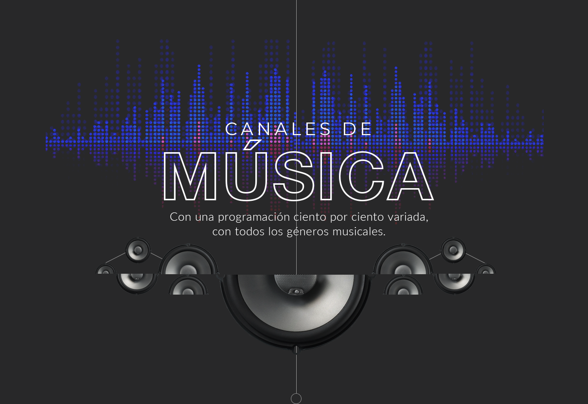 canales musica