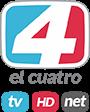 logo el cuatro tv net hd